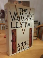 1985 First Edition Anne Rice The Vampire Lestat Third Printing