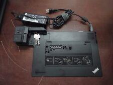 IBM Lenovo ThinkPad 4337 Mini Dock Series 3 w/ Key + ADAPTER