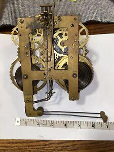Antique Session S Bim Bam Clock Movement With Hands