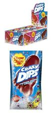Bulk24 x Chupa Chups Crazy Dips Cola Strawberry Popping Candy 16g Candy Favor
