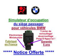 Vrai Emulateur tapis sensitif BMW voyant airbag allumé BMW E36 E 38 E39 E 46 E60