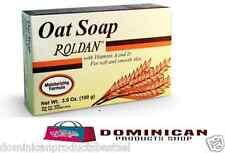 ROLDAN SOAP3.5 OZ OATMEAL SOAP MOISTURIZING FORMULA FOR SOFT AND SMOOTH SKIN