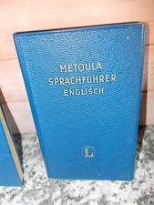 Metoula Sprachführer Englisch, von Dr. Hans Marcus, aus dem Langenscheidt Verlag