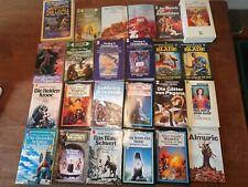 70er 80er Vintage Taschenbuch sammlung Fantasy Deutsche Erstveröffentlichung