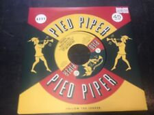 """THE PIED PIPER PLAYERS - THE BARI SAX B/W THE CAVALIERS - WE GO TOGETHER 7"""" NEW"""