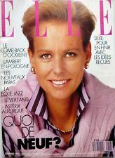 ELLE 1988: CHRISTINE OCKRENT_MODE_MARTIN SCORSESE_TRACY CHAPMAN_le TWEED