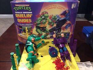 Teenage Mutant Ninja Turtles Duelin' Dudes with Original Box And Instructions **