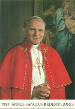 CARTE POSTALE - VATICAN 1983 : LE PAPE JEAN PAUL 2 GIOVANNI PAOLO II / POSTCARD