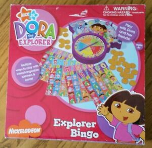 Dora the Explorer Bingo ~ Multiple Ways to Play Interchangeable Spinners & Cards
