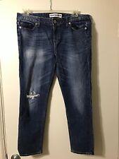 Women's Express Ankle Boyfriend Jeans, Size 12