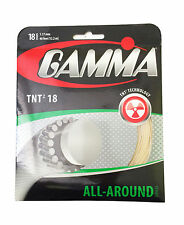 Gamma Tnt2 - 18 Gauge 1.27 mm - tennis racquet string set - Authorized Dealer