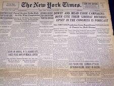 1946 NOVEMBER 3 NEW YORK TIMES - N. Y. U. MEDICAL CENTER SITE - NT 3164
