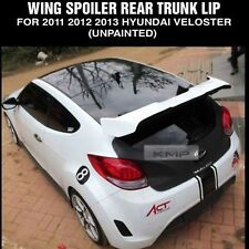 Glass Wing Rear Roof Spoiler Trim Unpainted for HYUNDAI 2011 - 2017  Veloster