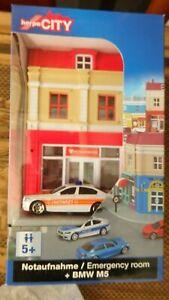 Herpa City 800044 Premiers Secours + BMW M5 Ambulance 1:64