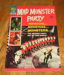 MAD MONSTER PARTY  SEPT.  1967  DELL PUBL. (HTF )