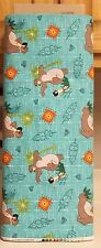 Green Jungle Book Toss Fabric by Springs Creative bty