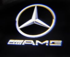 4 X LED Car Door AMG LOGO PROJECTOR 'Laser' Puddle Light for Mercedes E A class