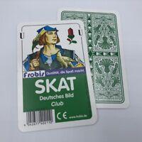 25 Skat Spiele Club Deutsches Bild, Kornblume Kartenspiel Spielkarten von Frobis