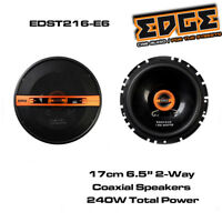 """Edge EDST216-E6 - 17cm 6.5"""" 2-Way Coaxial Speakers 240 Watts Total Power"""