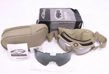 Smith Optics Outside The Wire OTW Turbo Fan Goggle Kit TAN 499 Clear Grey Lens