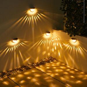 LED Licht Solarleuchte lampe Wandleuchte strahler mit Induktionslicht Außen DE