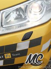 Renault megane sport 225/R26 * vrai * fibre de carbone projecteur gicleur lave-glace blanks