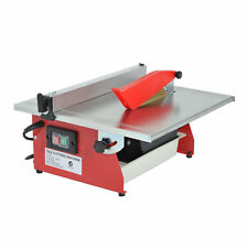 """Portable 7"""" Electric Ceramic Wet Tile Saw Marble Cutter Masonry Tool Table Top"""