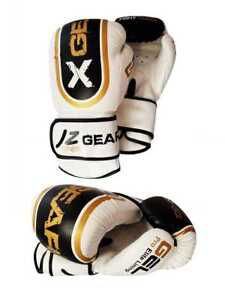 Gloves Boxing Bag MMA Training Punch Sparring Mitts Muay Thai Kids Leather Gel