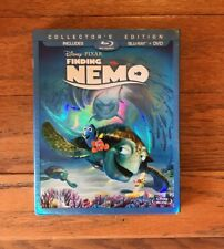 Disney Finding Nemo Collectors Edition In DVD & Blu-Ray New!