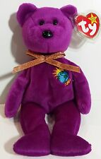 """TY Beanie Babies """"MILLENNIUM"""" the Y2K Teddy Bear - MWMTs! RETIRED! A MUST HAVE!"""
