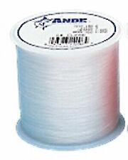 Ande A1-25P Premium Monofilament Fishing Line 1 lb Spool 25 lb 2000 Yards Pink