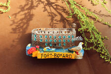 Fort Boyard, France Tourist Travel Souvenir 3D Resin Fridge Magnet Craft GIFT