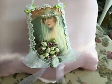 French Lavender Sachet: Shabby Chic / Vintage /Victorian/ lady/bride