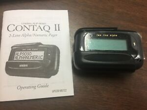 UNIDEN ALPHA PAGER MODEL ALP9090 CONTAQ II. BRAND NEW 2 LINE ALPHA PAGER