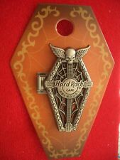 HRC Hard Rock Cafe Foxwoods Halloween 2015 3D Coffin Skull hinged LE100