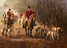 Horse and Hounds, Christmas cards pack of 10 by Fred Hayco. C372X