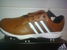 Adidas 360 Bounce Golf Shoe Brown Size 10.5US (2018 Model)