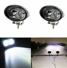 2X 20W 6000K White Spreader Led Marine Light Lamp For Boat (Spot Light) 12V 24V