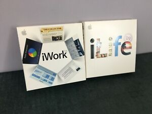 Genuine Apple iLife 09 and iWork 08 with serial number.