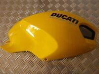 ecope jaune droite carénage coque réservoir flanc DUCATI Monster 696 1100 1100S