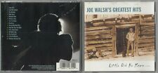 Joe Walsh - joe Walsh's Greatest Hits: Little Did He Know CD 1997 EAGLES