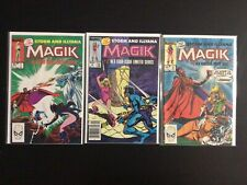 3 Issue Lot -  Magik Limited Series 1 2 3 X-Men New Mutants
