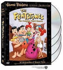 The Flintstones - Complete Third Season 3 Three (DVD,  4-DISC DVD SET) - NEW!!!