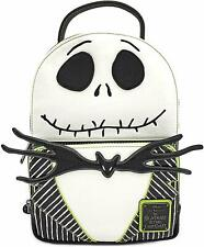 Loungefly Nightmare Before Christmas Jack Skellington Cosplay Mini Backpack NEW