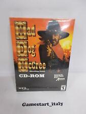 MAD DOG MCCREE CD ROM (PC) VIDEOGIOCO NUOVO SIGILLATO NEW GAME VIDEOGAMES