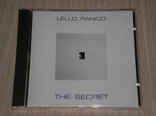 LELLO PANICO - THE SECRET - RARISSIMO CD COME NUOVO (MINT)