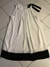 KOCCA TRES BELLE ROBE DOUBLEE TAILLE 40/42 TRES BEAU TISSUS