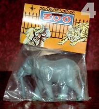 Plástico zoo set > gran elefante OVP 70er Hong Kong/piñata > Heinerle