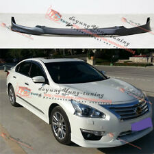 Unpainted Front Bumper Lip Protect Body Kit for Nissan Altima 2013 2014 2015