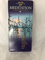 9 Cd Set. 2001-MEDITATION-CLASSICAL RELAXATION. Volumes 2-10 Sealed !!